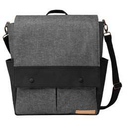 Petunia Pickle Bottom Sac à Couches Pathway Pack de Petunia Pickle Bottom/Petunia Pickle Bottom Pathway Pack Diaper Bag, Gris et Noir/Graphite and Black