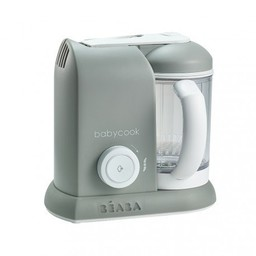 Béaba Beaba - Robot Culinaire Babycook/Babycook Culinary Robot, Gris/Grey