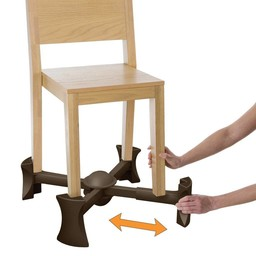 Kaboost Rehausseur de Chaise de Kaboost/Kaboost Chair Booster, Brun Chocolat/Chocolate