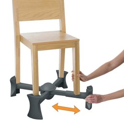 Kaboost Rehausseur de Chaise de Kaboost/Kaboost Chair Booster, Charbon/Charcoal