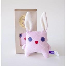 Velvet Moustache Velvet Moustache - Peluche Lapino/Bunny Soft Toy, Rose/Pink