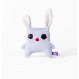 Velvet Moustache Velvet Moustache - Peluche Lapino/Bunny Soft Toy, Bleu/Blue