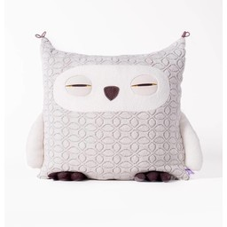 Velvet Moustache Peluche Coussin Hibou de Velvet Moustache/Velvet Moustache Owl Plush Cushion