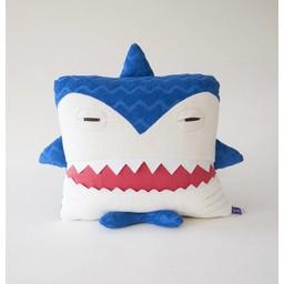 Velvet Moustache Velvet Moustache - Peluche Coussin Requin/Shark Plush Cushion