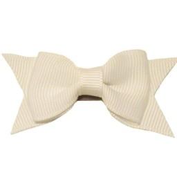 Baby Wisp Baby Wisp - Mini Latch Petite Barrette Cadeau / Mini Latch Cadeau Bow, Blanc/White