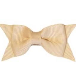 Baby Wisp Baby Wisp - Mini Latch Petite Barrette Cadeau / Mini Latch Cadeau Bow, Nu/Nude