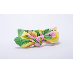 Roma Skye Confections Bandeau à Noeud de Roma Skye/Roma Skye Headband, Bananes Roses/Pink Bananas, 0-12 mois/months