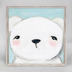 Oopsy Daisy Mini Toile Hello Bear 6x6 de Oopsy Daisy/Oopsy Daisy 6x6 Hello Bear Mini Framed Canvas