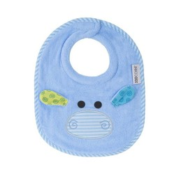 Zoocchini Bavette pour Bébé de Zoocchini/Zoocchini Baby Bibs, Henry l'Hippo/Henry the Hippo