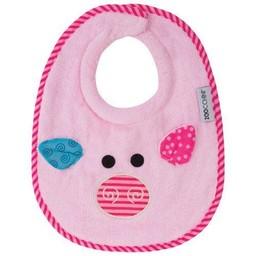 Zoocchini *Bavette pour Bébé de Zoocchini/Zoocchini Baby Bibs, Pinky le Cochon/Pinky the Pig