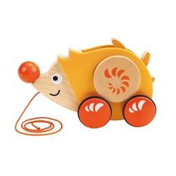 Hape Hape - Jouet à Tirer Walk-A-Long / Walk-A-Long Push Toy, Herisson/Hedgehog