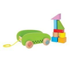 Hape *Mini Chariot avec Cubes de Hape/Hape Mini Block & Roll
