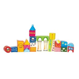 Hape Cubes Chateau Fantaisie de Hape/Hape Fantasy Blocks Castle