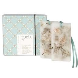 Lucia *Tablette de Cire Parfumée de Lucia, Cresson de Mer et Chai Tea/Lucia Scented Wax Tablet, Sea Watercress and Chai Tea