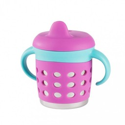 Make my day Make my Day - Tasse Antifuites/Sippy Cup Mauve et Bleue/Purple and Blue