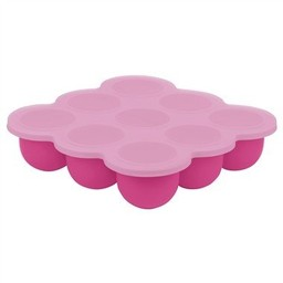 Kushies Contenant Multi-parties Silitray de Kushies Baby/Kushies Baby Silitray Multiparts Container, Rose Bonbon/Candy Pink