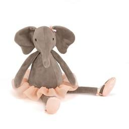 Jellycat Jellycat - Darcey l'Éléphant Ballerine/Dancing Darcey Elephant