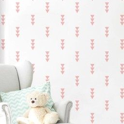 ADzif ADzif - Autocollants Muraux/Wall Stickers, Flèches Roses/Pink Arrows