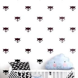 ADzif Autocollants Muraux de ADzif/ADzif Wall Stickers, Renard/Fox
