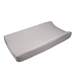 Baby's Journey Housse de Matelas à Langer Perfect Sleeper de Serta/Serta Perfect Sleeper Changing Pad Cover, Gris/Grey
