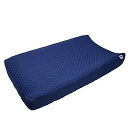 Baby's Journey Housse de Matelas à Langer Perfect Sleeper de Serta/Serta Perfect Sleeper Changing Pad Cover, Marine/Navy