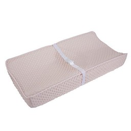 Baby's Journey Housse de Matelas à Langer Perfect Sleeper de Serta/Serta Perfect Sleeper Changing Pad Cover, Rose/Pink