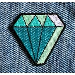 Les Tatoués Écusson Le Diamant de Les Tatoués/Les Tatoués Patch The Diamond