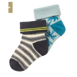 Noppies *Paquet de 2 Paires de Chaussettes Erice de Noppies/Noppies Socks 2-Pack Erice