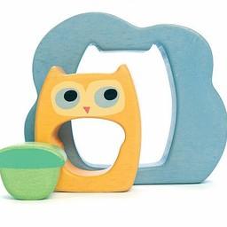 Le Toy Van Le Toy Van - Casse-Tête 3 pièces / Owly 3 Pieces Puzzle Hibou/Owly