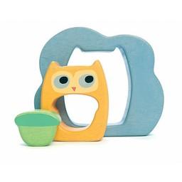 Le Toy Van Casse-Tête 3 pièces de Toy Van/Toy Van Owly 3 Pieces Puzzle Hibou/Owly