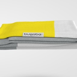 Bugaboo Bugaboo - Couverture en Coton Légère/Bugaboo Light Cotton Blanket, Jaune Vif/Bright Yellow