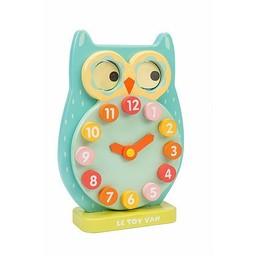 Le Toy Van Horloge Hibou Clin d'oeil de Toy Van/Toy Van Blink Owl Clock