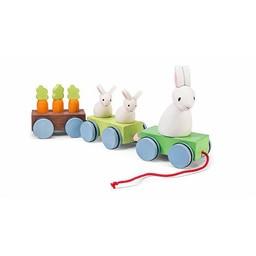 Le Toy Van Le Train de la Famille Lapin de Toy Van/Toy Van Bunny Train