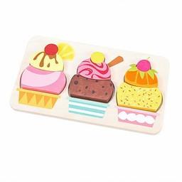 Le Toy Van Le Toy Van - Casse-Tête Crème Glacée/Cherry Sundae Puzzle