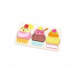 Le Toy Van Casse-Tête Crème Glacée de Toy Van/Toy Van Cherry Sundae Puzzle
