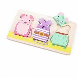 Le Toy Van Le Toy Van - Casse-Tête Mimi Souris / Mimi Mouse Puzzle