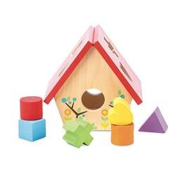 Le Toy Van Petite Boîte à Formes Maison d'oiseaux de Toy Van/Toy Van Little Bird House Shape Sorter