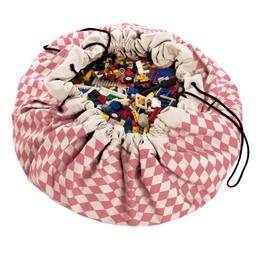 Play & Go Play & Go - Sac de Rangement/Storage Bag, Diamant Rose/Pink Diamonds