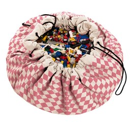 Play & Go Sac de Rangement de Play & Go/Play & Go Storage Bag, Diamant Rose/Pink Diamonds