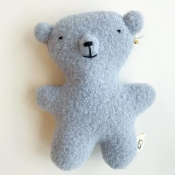 Ouistitine Petit Ourson de Ouistitine/Ouistitine Little Bear, Bleu/Blue