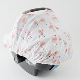 Little Unicorn Abri pour Siège de Voiture de Little Unicorn/Little Unicorn Car Seat Canopy, Pink Ladies