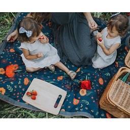 Little Unicorn Couverture d'Exterieur de Little Unicorn/Little Unicorn Outdoor Blanket, Pavot de minuit/Midnight Poppy