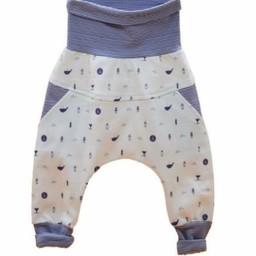 Little Yogi Little Yogi - Pantalon Évolutif Petite Baleine/Little Wailer Evolutive Pants