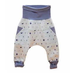 Little Yogi Little Yogi - Pantalons Évolutifs Petite Baleine/Little Wailer Evolutive Pants