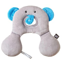 Benbat Repose Tête Travel Friend de Benbat/Benbat Travel Friend Headrest, Éléphant/Elephant 0-12 Mois/Months