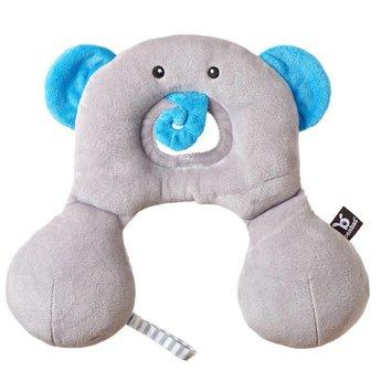 Benbat Benbat - Repose Tête Travel Friend/Travel Friend Headrest, Éléphant/Elephant 0-12 Mois/Months