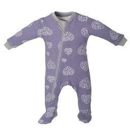Zippy Jamz Zippy Jamz - Pyjama à Pattes/Footie, Coeur/Heartbreaker