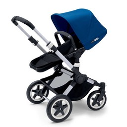 Bugaboo Bugaboo Buffalo - Base pour Poussette Buffalo, Aluminium et Noir/ Base for Bugaboo Buffalo Stroller, Aluminium and Black