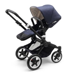 Bugaboo Bugaboo Buffalo - ÉDITION LIMITÉE CLASSIQUE+, Base et Habillage pour Poussette Buffalo, Bleu Marine/CLASSIC+ LIMITED EDITION, Base and Tailored Fabric Set for Bugaboo Buffalo Stroller, Navy