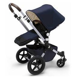 Bugaboo Bugaboo Cameleon - ÉDITION LIMITÉE CLASSIQUE+, Base et Habillage pour Poussette Cameleon³, Bleu Marin/CLASSIC+ LIMITED EDITION, Base and Tailored Fabric Set for Bugaboo Cameleon³ Stroller, Navy
